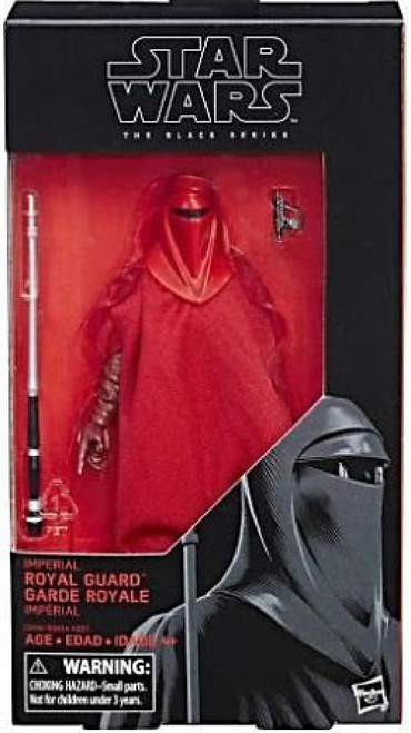 Star Wars Return of the Jedi Black Series Wave 22 Imperial Royal Guard Action Figure