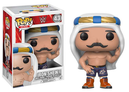 Funko WWE Wrestling POP! Sports Iron Sheik Vinyl Figure #43 [White Turban Regular Version]