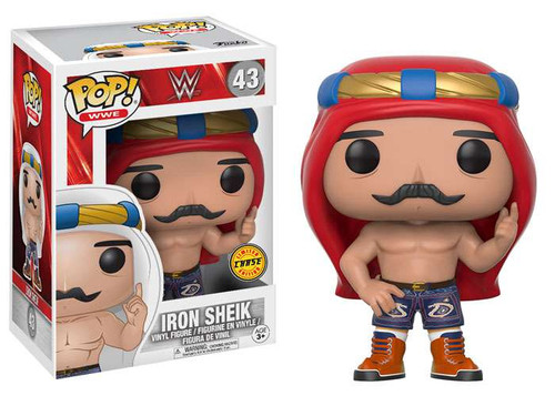 Funko WWE Wrestling POP! Sports Iron Sheik Vinyl Figure #43 [Red Turban Chase Version]