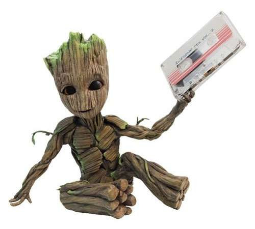 Marvel Guardians of the Galaxy Vol. 2 Premium Motion Statue Awesome Groot 2 12-Inch Statue