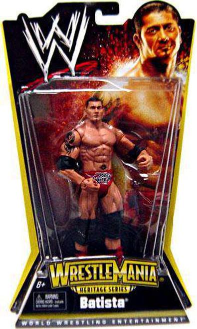 WWE Wrestling Wrestlemania 21 Heritage Batista Action Figure