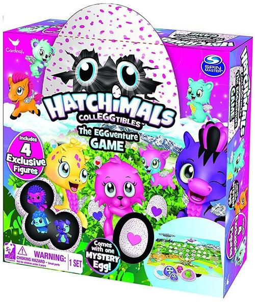 Hatchimals Colleggtibles The EGGventure Board Game [4 Exclusive Figures]