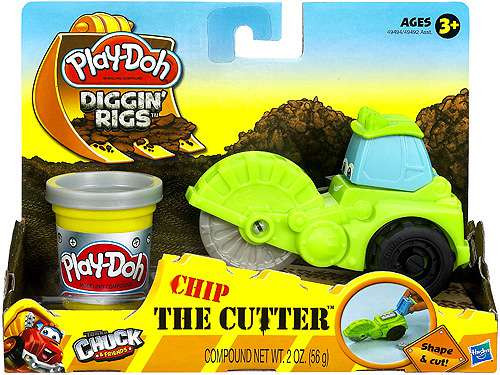 Play-Doh Tonka Chuck & Friends Diggin' Rigs Chip The Cutter Playset [Damaged Package]