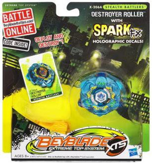Beyblade XTS Stealth Battlers Destroyer Roller Single Pack X-206A [Loose]