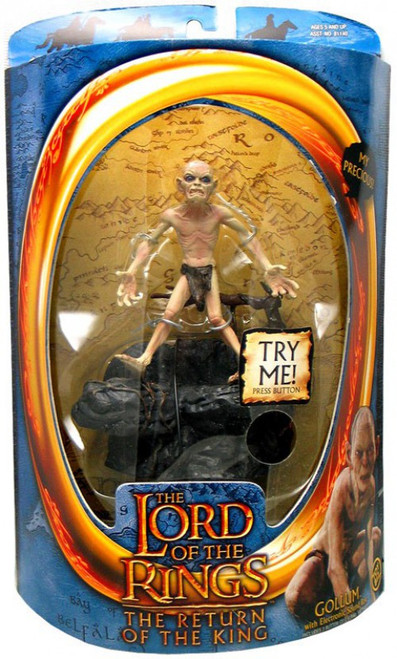 The Lord of the Rings The Return of the King Gollum Action Figure [Precious Phrase]