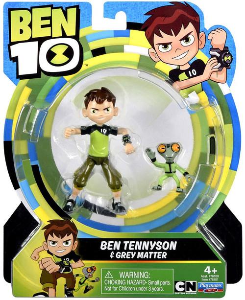 Ben 10 Basic Ben Tennyson & Grey Matter Action Figure