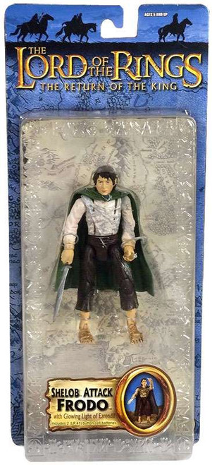 The Lord of the Rings The Return of the King Series 4 Frodo Baggins Action Figure [Shelob Attack]