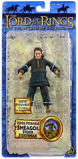 The Lord of the Rings The Return of the King Series 4 Smeagol Action Figure [Stoor Fisherman]
