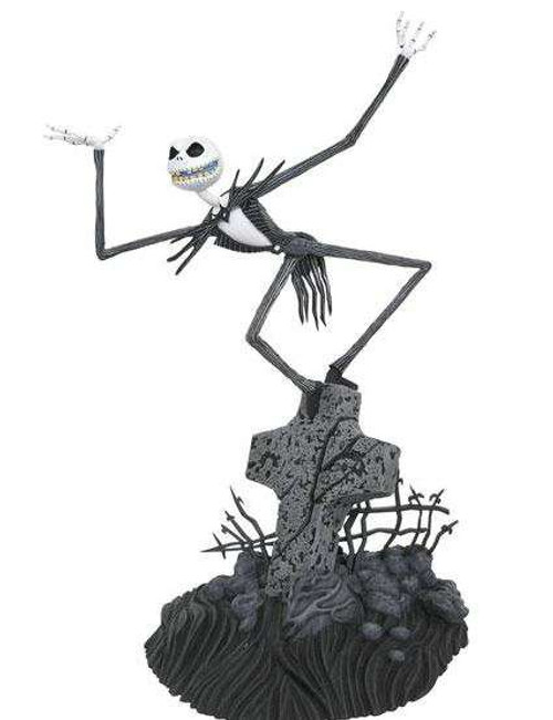 Nightmare Before Christmas Movie Gallery Jack Skellington PVC Figure Statue