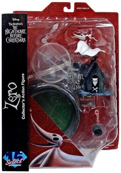 Nightmare Before Christmas Select Series 4 Zero Action Figure