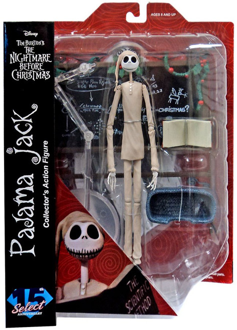 Nightmare Before Christmas Select Series 4 Jack Skellington Action Figure