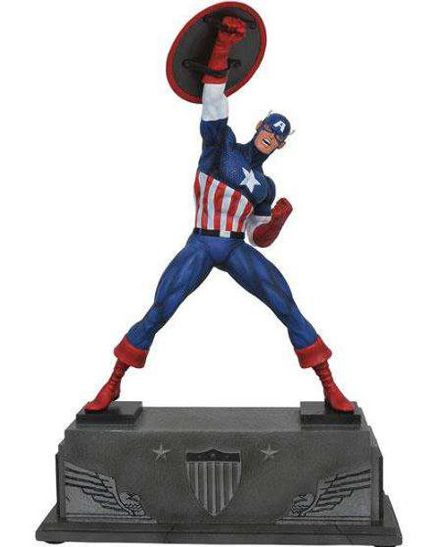 Marvel Premier Collection Captain America 12-Inch Resin Statue