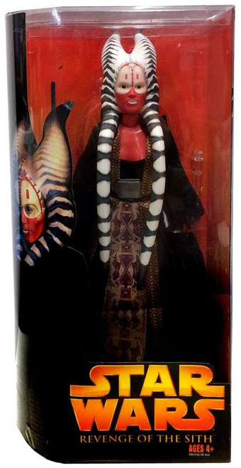Star Wars Revenge of the Sith Shaak-Ti Deluxe Action Figure [Damaged Package]