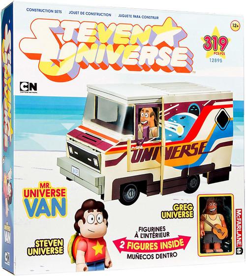 McFarlane Toys Steven Universe Greg Universe & Mr. Universe Van Large Construction Set