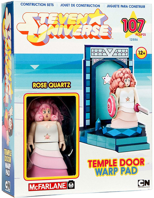McFarlane Toys Steven Universe Rose Quartz & Temple Door Warp Pad Small Construction Set
