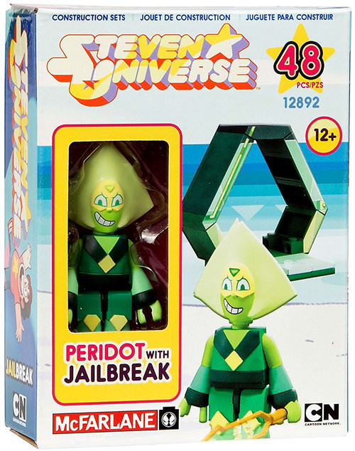 McFarlane Toys Steven Universe Peridot & Jailbreak Micro Construction Set