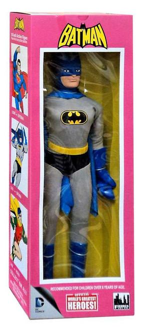 World's Greatest Super Heroes Retro Batman Retro Action Figure [Damaged Package]