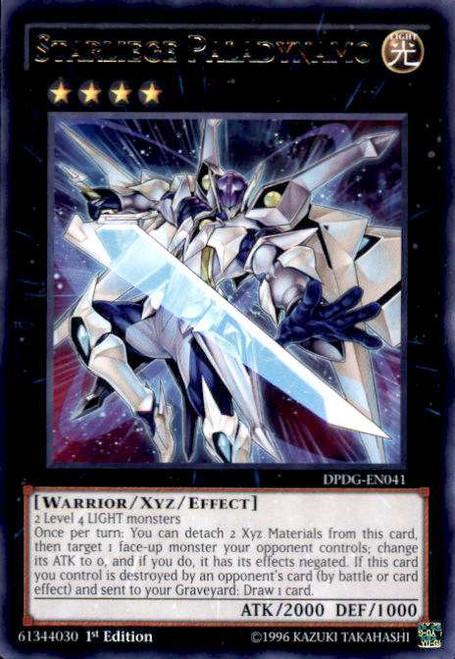YuGiOh Duelist Pack: Dimensional Guardians Rare Starliege Paladynamo DPDG-EN041