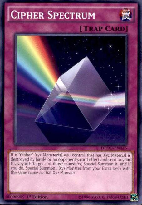 YuGiOh Duelist Pack: Dimensional Guardians Common Cipher Spectrum DPDG-EN045