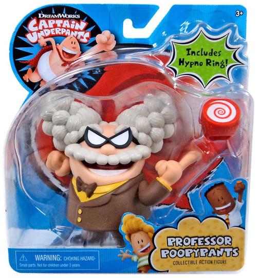 Captain Underpants Professor PoopyPants Action Figure [Includes Hypno Ring!]