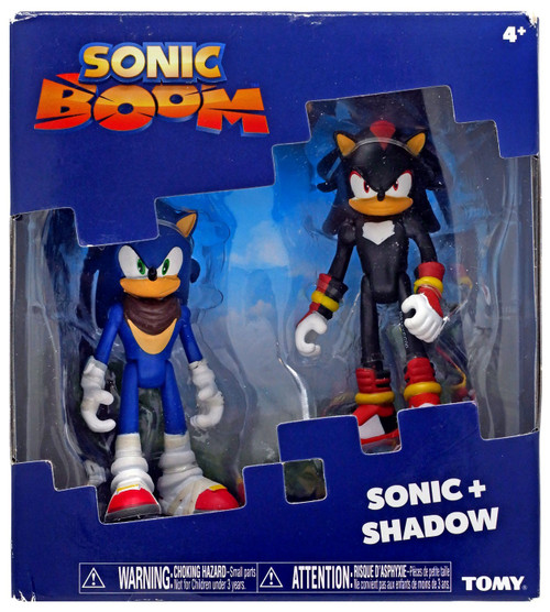 Sonic The Hedgehog Sonic Boom Shadow & Sonic Action Figure 2-Pack