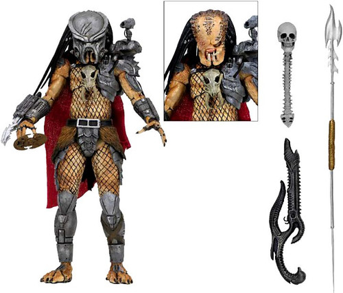 NECA Ahab Predator Action Figure [Ultimate Version]