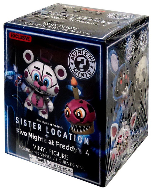 Funko Five Nights at Freddy's Mystery Minis Sister Location Exclusive Mystery Pack [1 RANDOM Figure]
