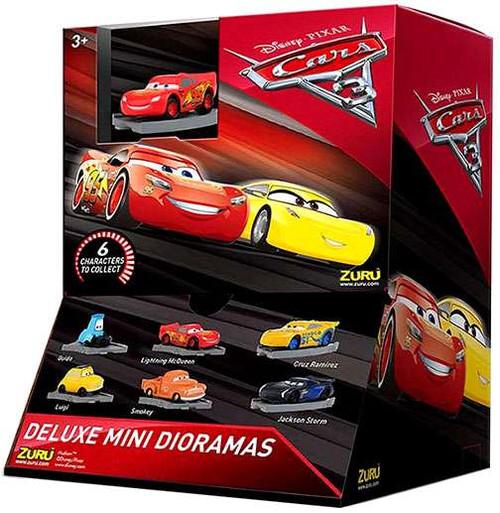 Disney Cars 3 Deluxe Mini Dioramas Mystery Box [25 Packs]
