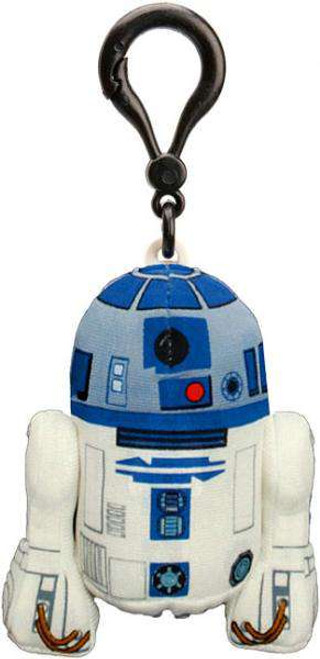 Star Wars The Clone Wars R2-D2 4-Inch Talking Plush Clip-On