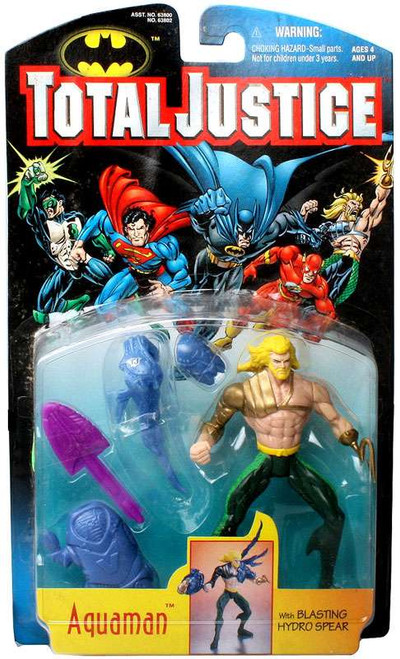 DC Total Justice Aquaman Action Figure [with Blasting Hydro Spear]
