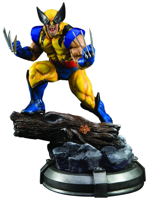Marvel X-Men Danger Room Wolverine Fine Art Statue