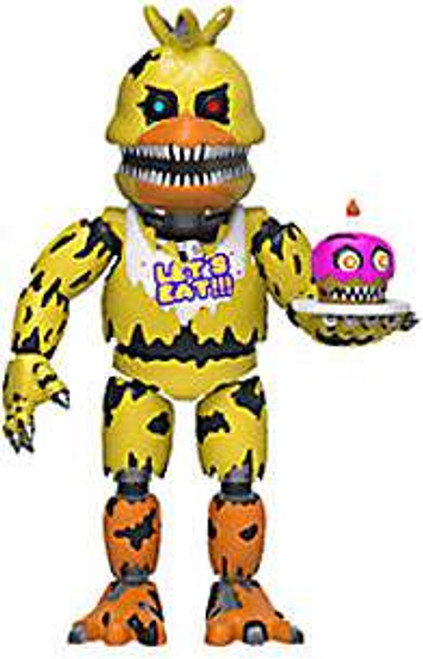 Funko Five Nights at Freddy's Nightmare Chica 2-Inch Vinyl Mini Figure [Loose]