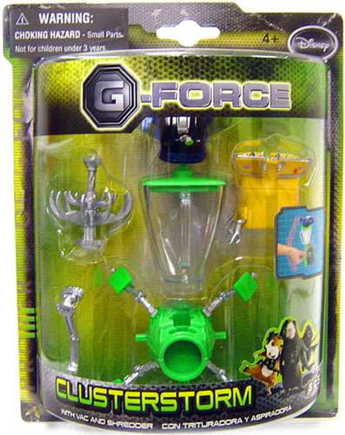 Disney G-Force Clusterstorm Action Figure [Vac & Shredder]