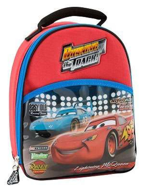 Disney / Pixar Cars Movie Lightning McQueen Lunch Bag [Backpack Style]