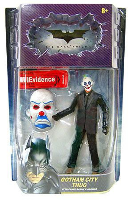 Batman Movie Masters Gotham City Thug Deluxe Action Figure [Angry Mask, Blue Goatee]