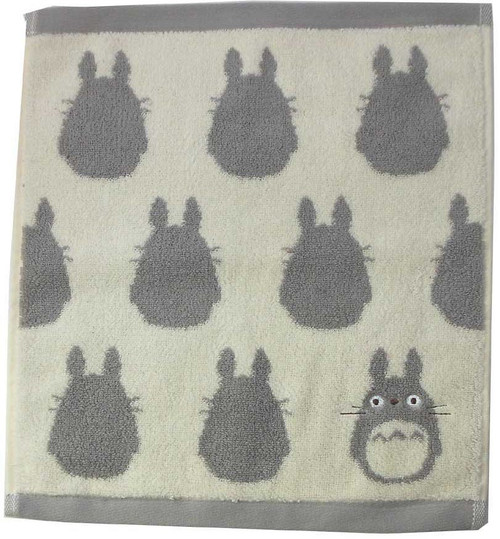 Studio Ghibli My Neighbor Totoro Silhouette Towel