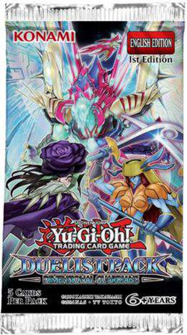 YuGiOh Trading Card Game Duelist Pack Dimensional Guardians Booster Pack [5 Cards]
