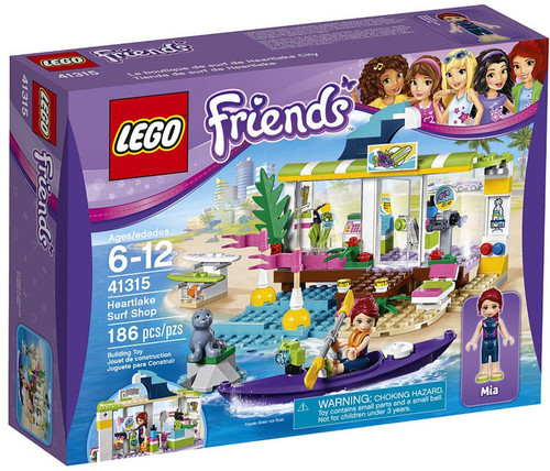 LEGO Friends Heartlake Surf Shop Set #41315