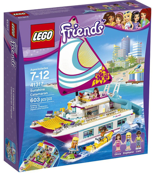 LEGO Friends Sunshine Catamaran Set #41317