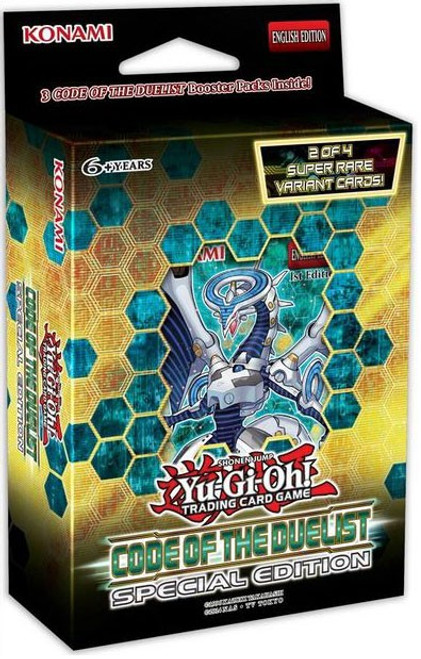 YuGiOh Trading Card Game Code of the Duelist Special Edition [3 Booster Packs & 1 Random Promo Card!]