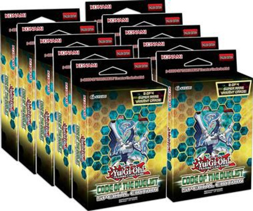 YuGiOh Trading Card Game Code of the Duelist Special Edition DISPLAY Box [10 Units]