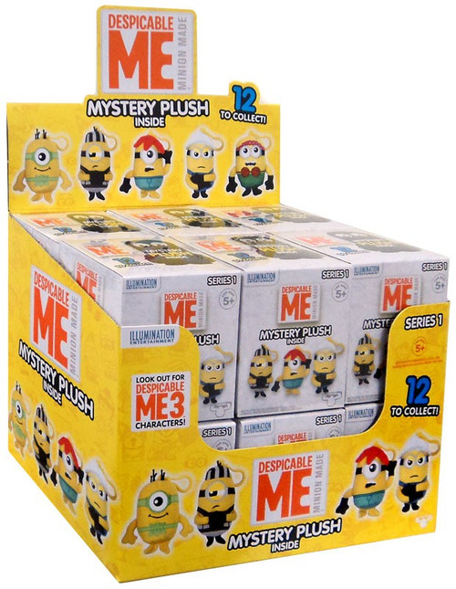 Minion Made Despicable Me Plush Mystery Box [12 Packs]