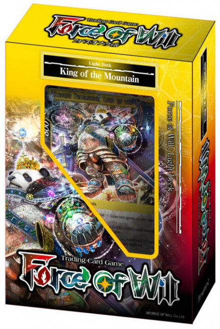 Force of Will Light King of the Mountain Starter Deck
