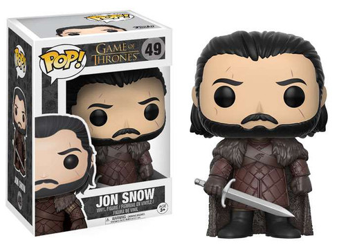 Funko Game of Thrones POP! TV Jon Snow Vinyl Figure #49