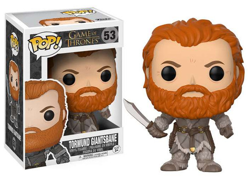 Funko Game of Thrones POP! TV Tormund Giantsbane Vinyl Figure #53