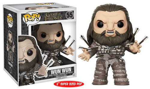 Funko Game of Thrones POP! TV Wun Wun 6-Inch Vinyl Figure #55 [Super-Size]