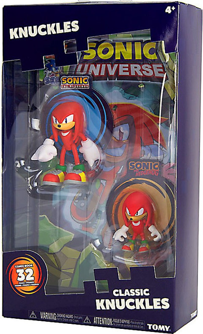 Sonic The Hedgehog Sonic Boom Classic Knuckles Action Figure 2-Pack [Comic]