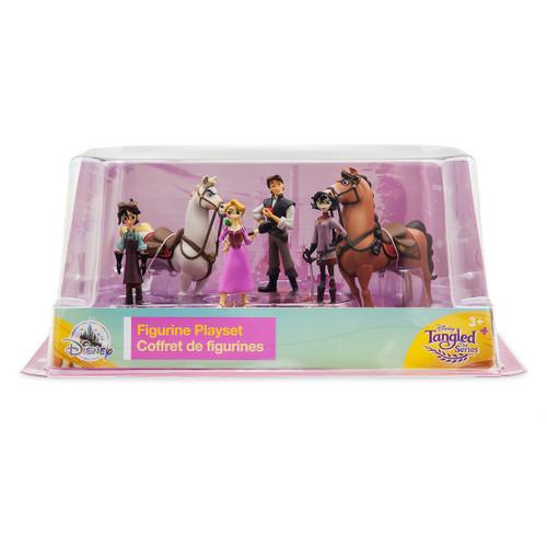 Disney Tangled The Series Exclusive 6 Piece PVC Figurine Playset