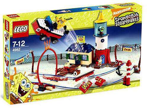 LEGO Spongebob Squarepants Mrs. Puff's Boating School Set #4982 [Damaged Package]