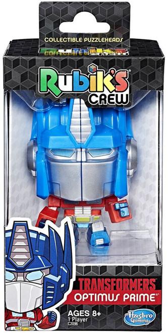 Transformers Rubik's Crew Optimus Prime Puzzle Toy